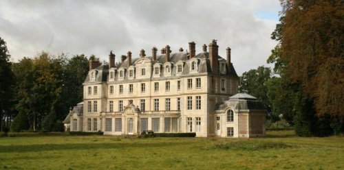 Beau ch teau vendre proche paris ismh 1 650 000 pont audemer ch t - Chateau de villiers le bacle ...